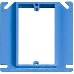 "Carlon A411 4"" Square ENT Box Extender, 5/8"" Raised, Non-Metallic"