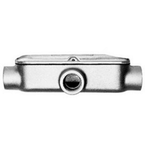 "Appleton BT150-M Conduit Body, Mogul, Type: T, 1-1/2"", Cover/Gasket, Malleable Iron"