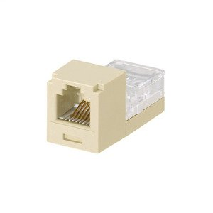 Panduit CJ66EIY Mini-Com Module, Cat 3, UTP, 6 pos 6 wir