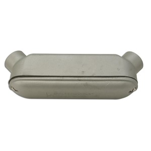 "Appleton BUB150-A Conduit Body, Mogul, Type: UB, 1-1/2"", Cover/Gasket, Aluminum"
