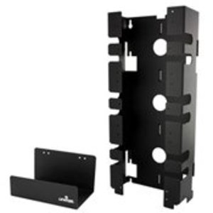 Leviton 41MB2-3F5 300 PAIR MOUNTING FRAME KIT W/3 100-PR BASES, MOUNTING FRAME, CABLE TRAY, 3 HORIZONTAL CORD MANAGERS, 60 C5 CLIPS, LABELS STRIP HOLDERS AND WHITE LABEL STRIPS.