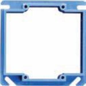 "Carlon A420 4"" Square ENT Box Extender, 1/2"" Raised, Non-Metallic"