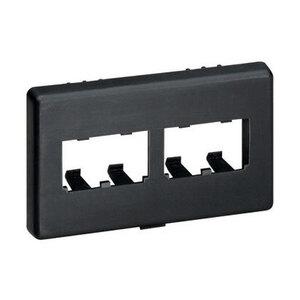 Panduit CFFPHM4BL Mini-Com®, Furniture Faceplate