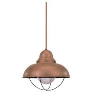 Sea Gull 6658-44 1l Pendant Weathered Copper