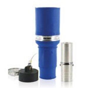 Leviton 49F77-B Single Pole Female Plug, 1135A Max, 777 MCM, Blue