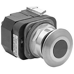 Allen-Bradley 800T-FXQ24RA1 Push Button, Push-Pull, 30mm, Illuminated, Mushroom Head, Red