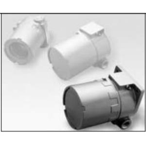 """Adalet XIHLFCX Instrument Housing, 4"""" Diameter, 3/4"""" Hubs, Aluminum, Explosionproof"""
