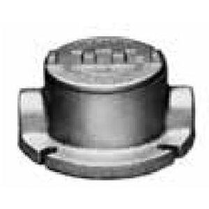 "Appleton GRFC50A Conduit Outlet Box, Type GRF, (2) 1/2"" Hubs, Malleable"
