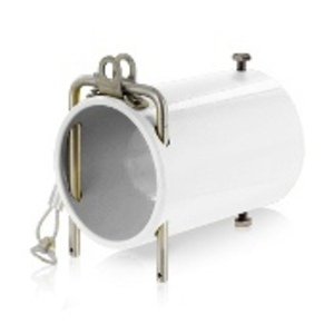 Leviton 49COP-W 49 Series Single Pole Rhino-Hide High Amperage In-Line Coupler, Industrial Grade - WHITE
