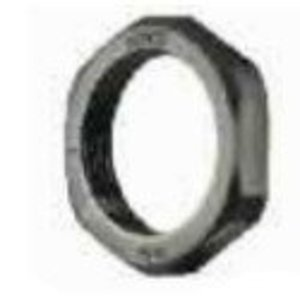 "Heyco 8463 Locknuts, NPT Thread, 1/2"", Nylon, Black"