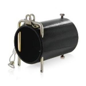 Leviton 49COP-E In-Line Coupler for Connectors, Powder Coated Aluminum, Black