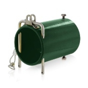Leviton 49COP-G 49 Series Single Pole Rhino-Hide High Amperage In-Line Coupler, Industrial Grade - GREEN