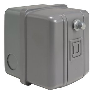 Square D 9013GSG2J23PRZ Pressure Switch, Water or Air, 575VAC, 40-20PSI, 300 Max PSI