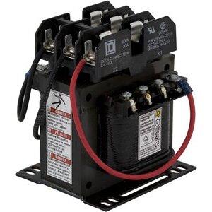 Square D 9070TF150D2 Control Transformer, 150VA, 240/480x24, Type TF, 1PH, Open