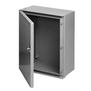 "Hoffman UU605025 Enclosure, NEMA 4X, 24"" x 20"" x 10"", Wall Mount, Gray, Fiberglass"