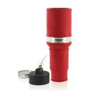 Leviton 49FSL-R Replacement Connector Insulator, Female, Red