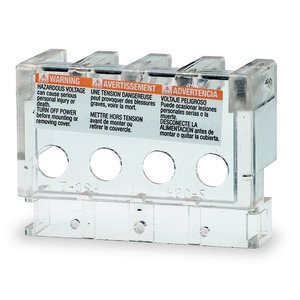 Square D 9070FSC23 Transformer, Finger-Safe Terminal Cover, 25VA-5kVA, 2 per Kit