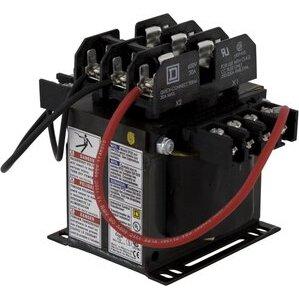 square d 9070tf250d2 control transformer, 250va, 240/480x24, type tf, 1ph