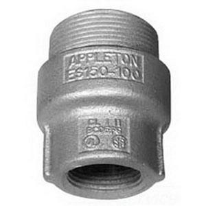 "Appleton ES400300 Sealing Hub, 4"" x 3"", Male/Female, Explosionproof, Malleable"