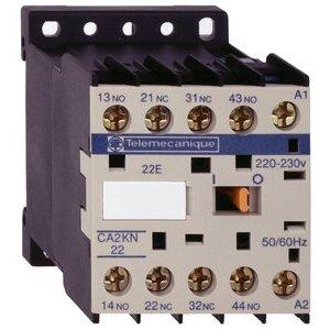 Square D CA2KN31F7 Relay, Control, 4P, 3NO, 1NC, 110VAC Coil, Screw Clamps