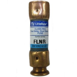 Littelfuse FLNR025 Fuse, 25A, 250VAC/125VDC, Class RK5, Time Delay
