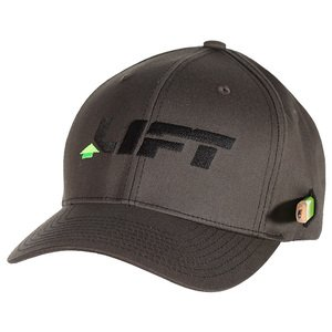 Lift Safety ABE-10Y Cotton Flexfit Hat, Gray