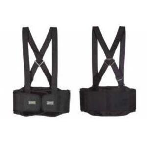 Lift Safety BSH-6K1L Stretch Back Belt - X-Large, Black
