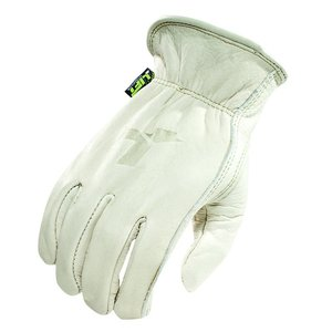 Lift Safety G8S-6SM Unlined Leather Glove - Size: Medium