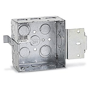 Steel City 72171-MS-1/2-3/4 4 11/16 SQ BOX MS BRACKET