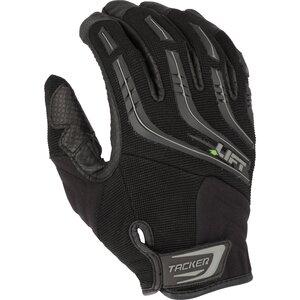 Lift Safety GTA-9KM Tacker Work Gloves - Size: Medium, Black