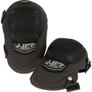 Lift Safety KFR-0K Foam Pad, Plastic Cap Knee Pads