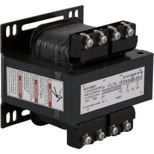 Square D 9070T200D15 Control Transformer, 200VA, Multi-Tap, Type T, 1PH, Open