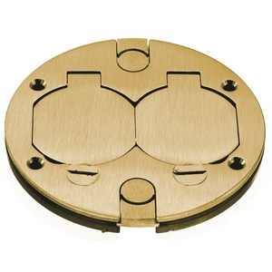 Hubbell-Kellems BRS2RCA HUBBELL BRS2RCA BRASS PLATE