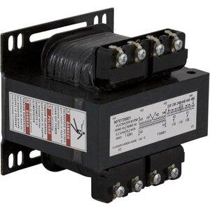 Square D 9070T200D5 Control Transformer, 200VA, Multi-Tap, Type T, 1PH, Open