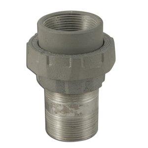 "Appleton UNY150NR-A Male/Female Union, 1-1/2"", Explosionproof, Aluminum"
