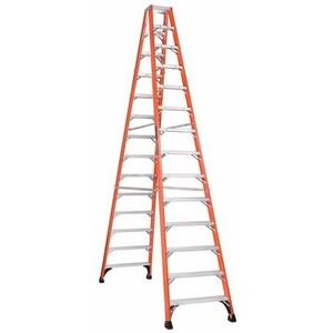 Louisville Ladders FM1414HD TWIN FRONT