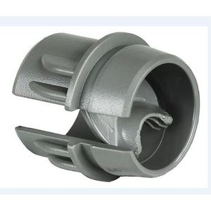"Dottie DRC50 Push-In Connector, 1/2"", For Non-Metallic/Flexible Cord, Plastic"