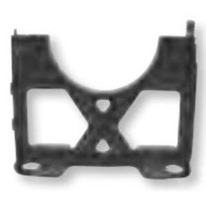 """Bizline 400X150BSSPR Base Spacer, 4 x 1-1/2"""", Black, Non-Metallic"""