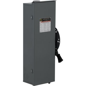 Square D DTU323RB Transfer Switch, Non-Fused, 100A, 240VAC, 250VDC, 3P, NEMA 3R
