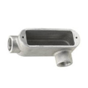 "Appleton X29 Conduit Body, Type: X, Form 9, 3/4"", Aluminum"