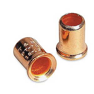 Weidmuller 0542500000 Crimp Connector, Copper, 20 AWG, Insulated