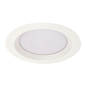 "Juno Lighting 240-PW Reflector Trim, Wet Location Albalite, 6"", Plastic White"