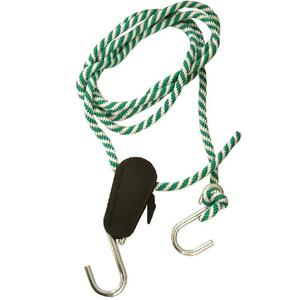 Dottie RTL10 Green & White Rope Lock Tie Down System - Length: 10', 3/8""
