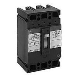 GE Industrial TED134025WL Breaker, 25A, 480VAC, 250VDC, 3P, Molded Case, 5kAIC