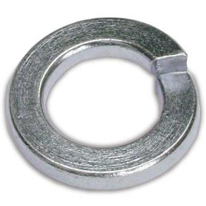 "Multiple LW14 Lock Washer, 1/4"", Steel"