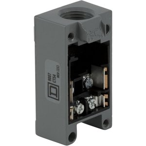 Square D 9007CT62 Limit Switch, Plug In, Base, Receptacle, 2NO/NC Contact