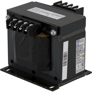 Square D 9070T750D50 Control Transformer, 750VA, Multi-Tap, Type T, 1PH, Open