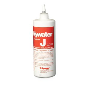 American Polywater J-35 Lubricant J Cable Pulling Lubricant, Water Based Gel - 1 Quart Squeeze Bottle