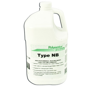 American Polywater NB-128 Silicone™ Cable Pulling Lubricant, Silicon Based - 1 Gallon Jug