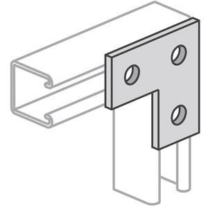 Power-Strut PS718-HG Flat Angle Plate